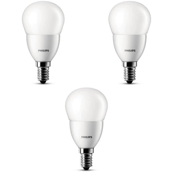 philips lot de 3 ampoules sph led 25w e14 philips pickture. Black Bedroom Furniture Sets. Home Design Ideas