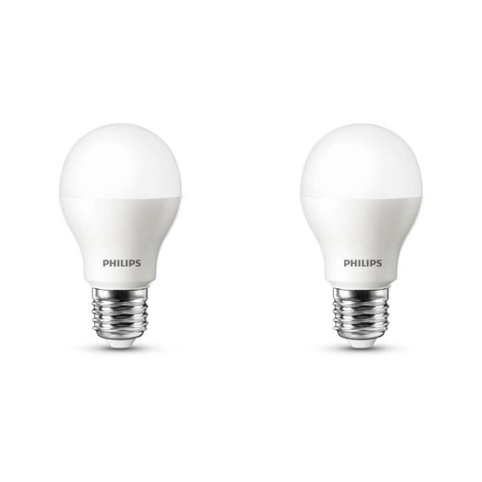 philips lot de 2 ampoules led 40w e27 d polies philips pickture. Black Bedroom Furniture Sets. Home Design Ideas