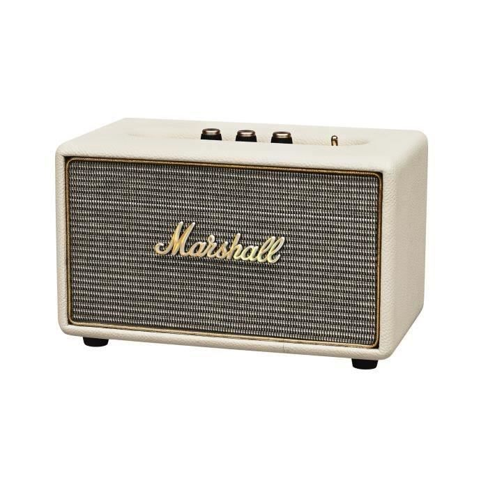 marshall acton enceinte bluetooth creme marshall pickture. Black Bedroom Furniture Sets. Home Design Ideas