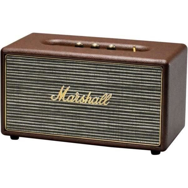 marshall stanmore enceinte bluetooth marron marshall pickture. Black Bedroom Furniture Sets. Home Design Ideas