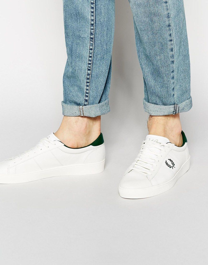 Fred perry spencer fred perry pickture - Chauffeuse cuir blanc ...