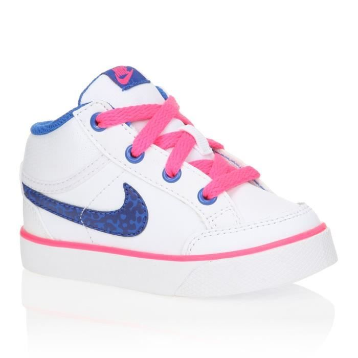 nike baskets capri 3 mid ltr td b b fille nike pickture. Black Bedroom Furniture Sets. Home Design Ideas