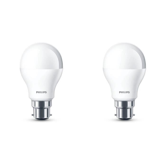 philips lot de 2 ampoules led 40w b22 d polies philips pickture. Black Bedroom Furniture Sets. Home Design Ideas