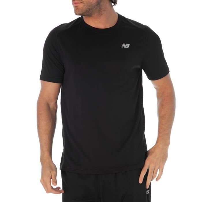 new balance t shirt running mc go 2 homme new balance pickture. Black Bedroom Furniture Sets. Home Design Ideas