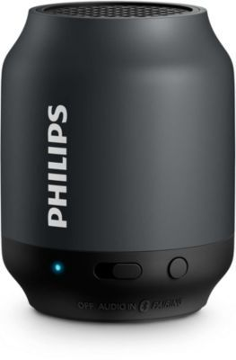 enceinte bluetooth philips bt50 noir philips pickture. Black Bedroom Furniture Sets. Home Design Ideas