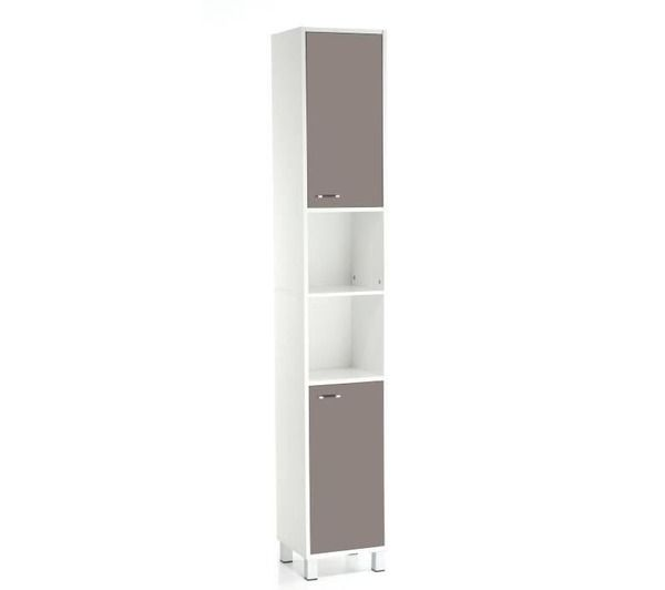 colonne salle de bain high glossy taupe noname pickture