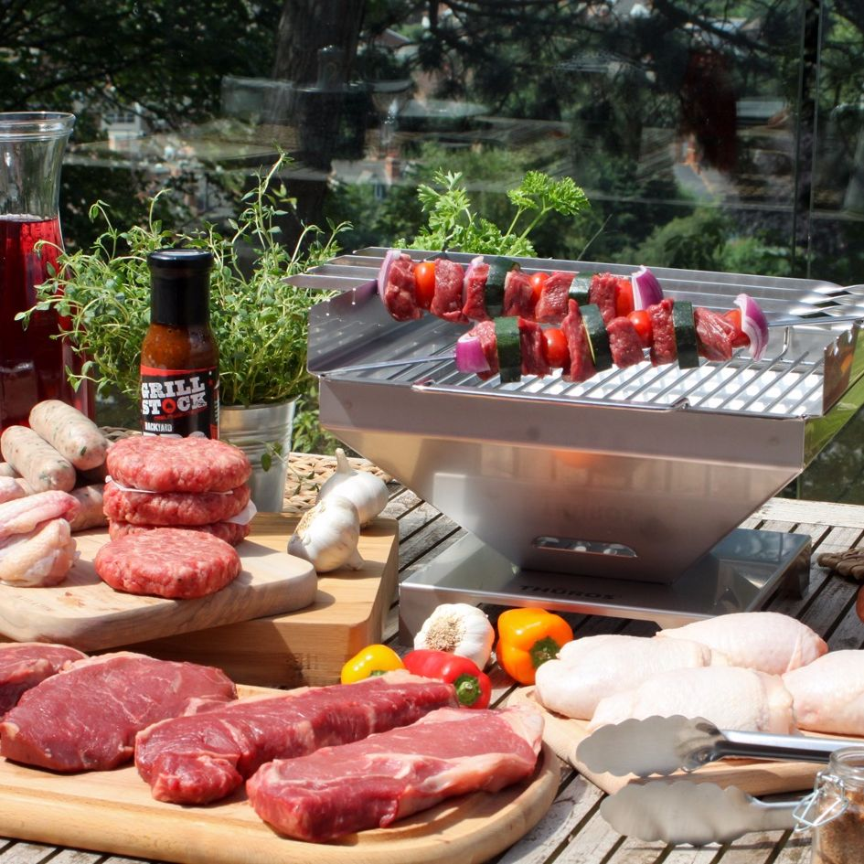 how to deep clean a barbecue