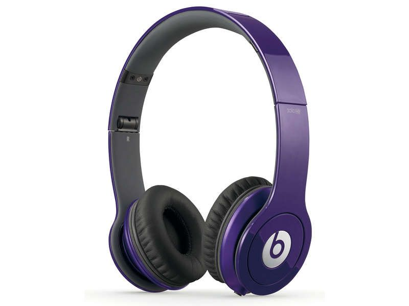 casque filaire hifi beats solo coloris violet beats pickture. Black Bedroom Furniture Sets. Home Design Ideas