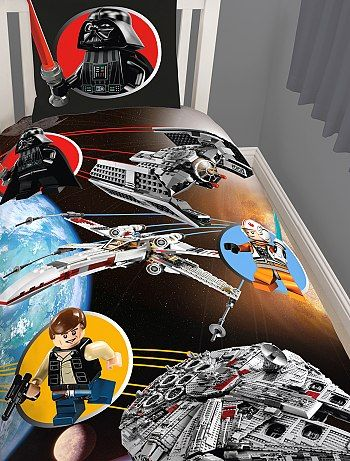 parure de lit 39 lego 39 star wars kiabi pickture. Black Bedroom Furniture Sets. Home Design Ideas