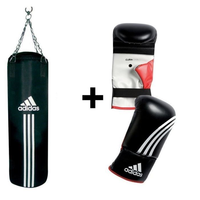 adidas kit sac de frappe gants adibgs01 adidas pickture. Black Bedroom Furniture Sets. Home Design Ideas