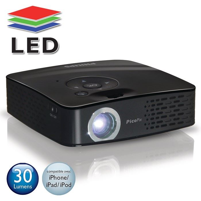 philips ppx1230 pico projecteur led philips pickture. Black Bedroom Furniture Sets. Home Design Ideas