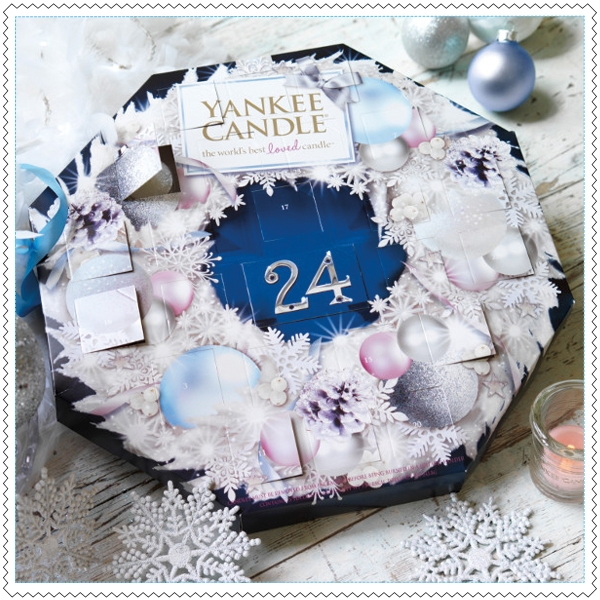 calendrier de l 39 avent yankee candle 2014 yankee candle. Black Bedroom Furniture Sets. Home Design Ideas