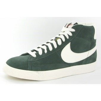 nike baskets cuir blazer mid prm vntg suede homme nike. Black Bedroom Furniture Sets. Home Design Ideas