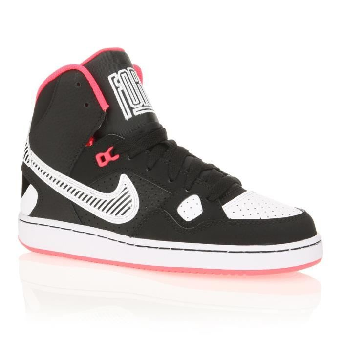 Nike baskets son of force mid gs enfant fille nike - Cdiscount basket enfant ...