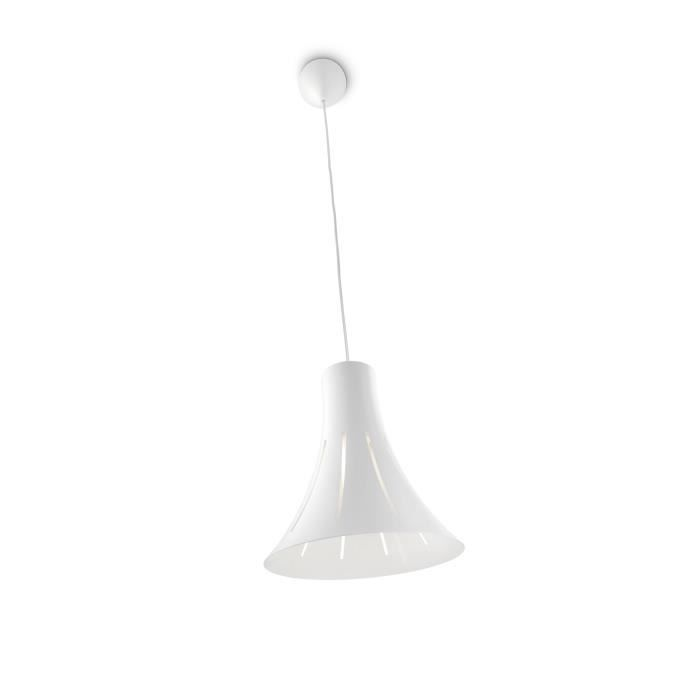 Philips suspension spey blanc 1x25w philips pickture - Suspension rotin blanc ...