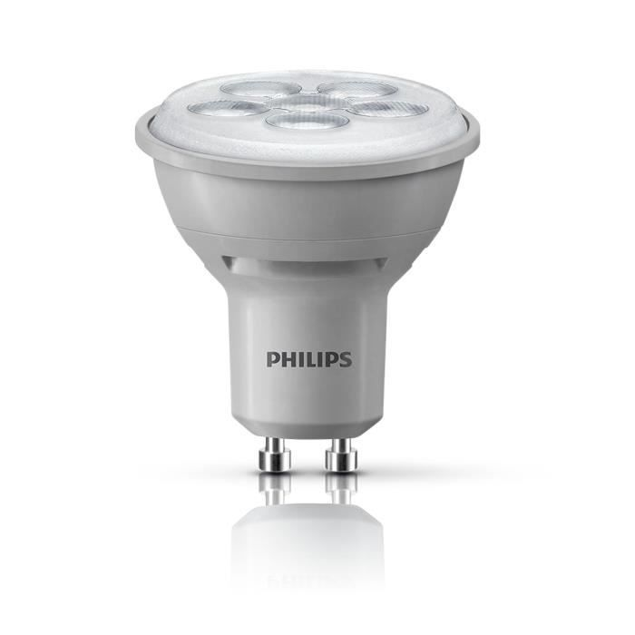 philips ampoule spot capsule led 50w gu10 dimmable philips pickture. Black Bedroom Furniture Sets. Home Design Ideas