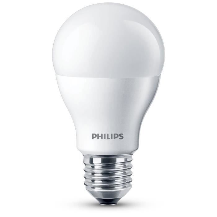 philips ampoule standard led 60w e27 dimmable philips pickture. Black Bedroom Furniture Sets. Home Design Ideas