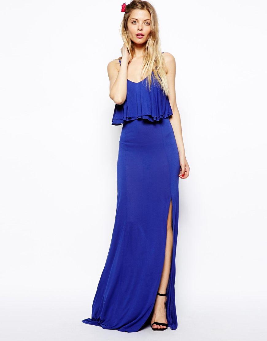 Asos maxi robe avec top court asos pickture for Robe maxi mariage asos