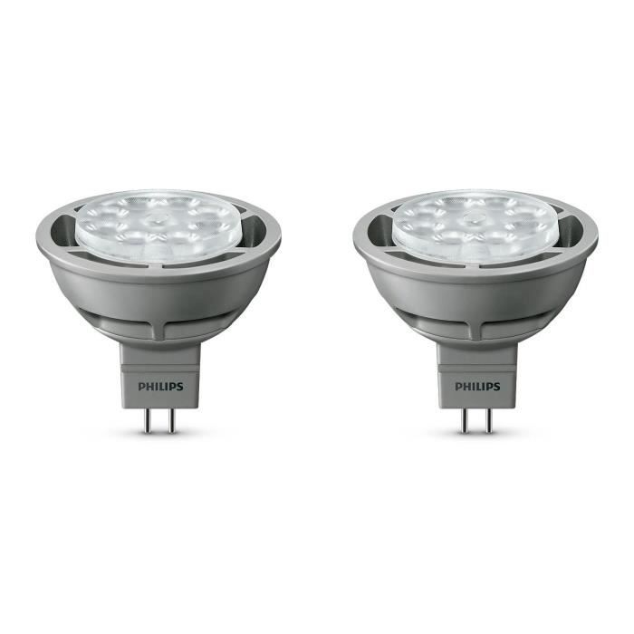 Philips lot 2 ampoules spot capsule led gu5 3 35w - Ampoule gu 5 3 ...