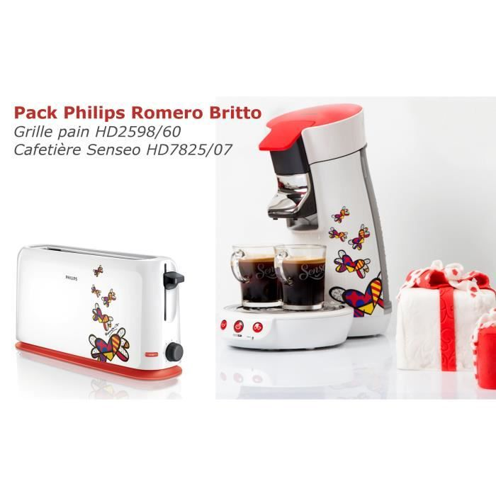 grille pain hd2598 cafetiere senseo hd782507 philips. Black Bedroom Furniture Sets. Home Design Ideas