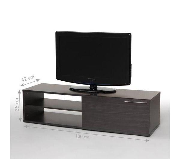 kikua meuble tv 130 cm gris cendr noname pickture. Black Bedroom Furniture Sets. Home Design Ideas