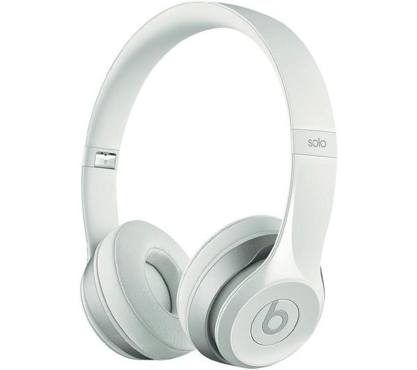 casque micro by dr dre solo 2 blanc beats pickture. Black Bedroom Furniture Sets. Home Design Ideas
