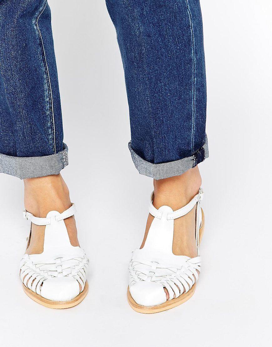 Asos jayne asos pickture - Nettoyer chaussure cuir blanc ...
