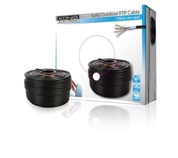 Cable ftp cat5e pour l 39 exterieur k nig noname pickture - Ragreage autonivelant pour l exterieur ...