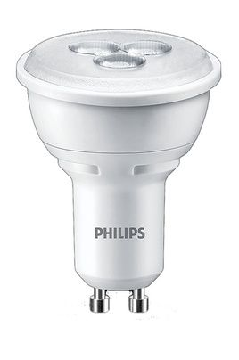 ampoule led philips spot gu10 3 5w 35w philips pickture. Black Bedroom Furniture Sets. Home Design Ideas