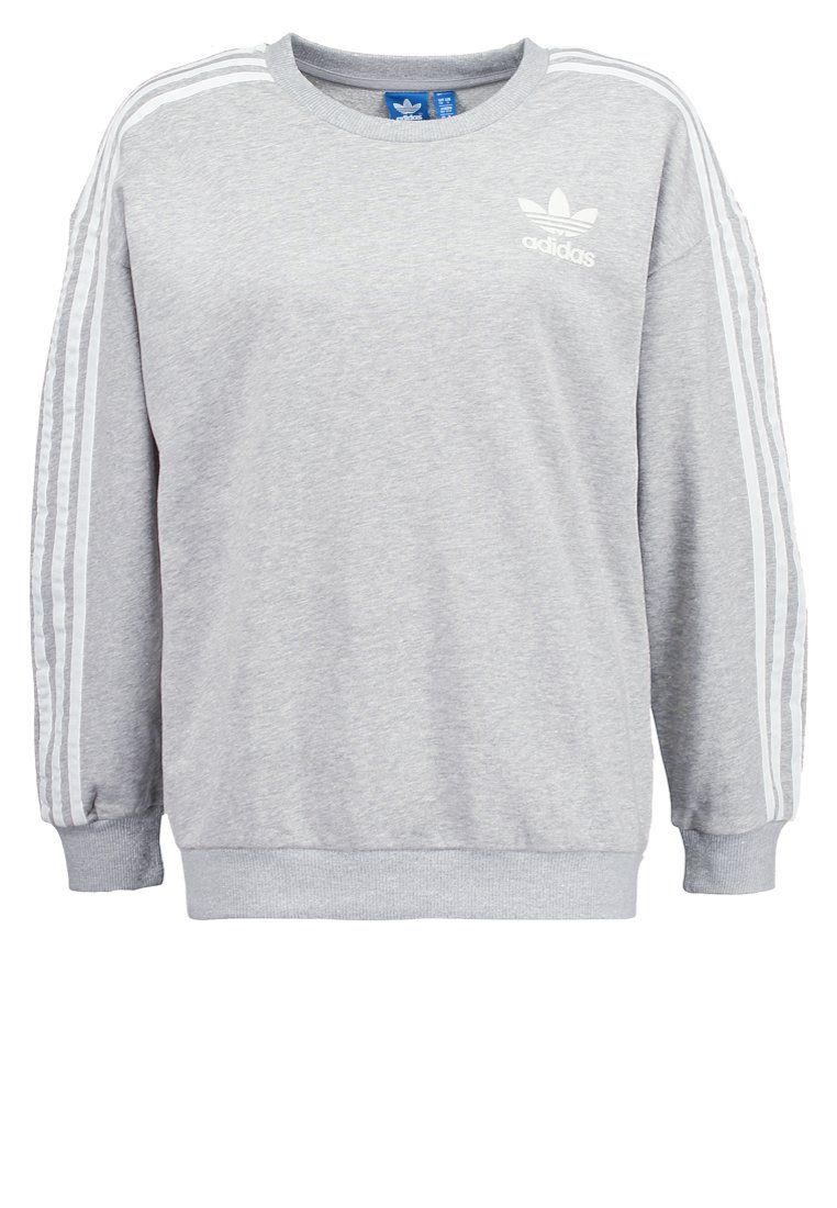 adidas originals beckenbauer sweatshirt grey adidas. Black Bedroom Furniture Sets. Home Design Ideas