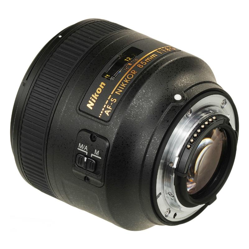 Nikon af s fx 85 mm f 1 8 s rie g nikkor objectif nikon for Objectif a miroir pour nikon