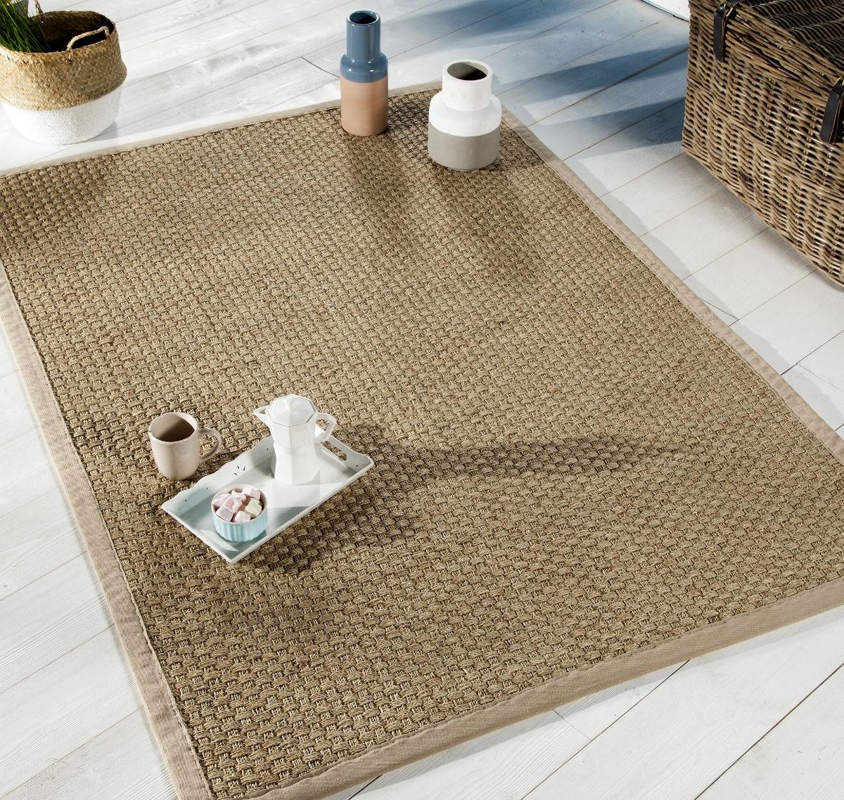 Carrelage design tapis jonc de mer moderne design pour for Tarif carrelage porcelanosa