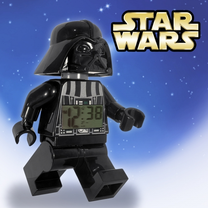 lego star wars darth vader wecker lego pickture. Black Bedroom Furniture Sets. Home Design Ideas
