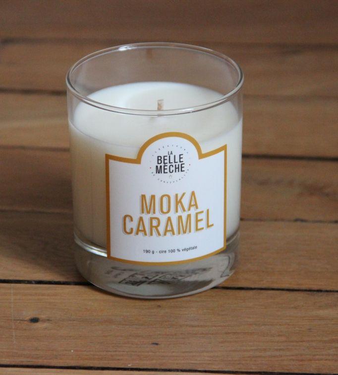bougie parfum e moka caramel la belle m che la belle m che pickture. Black Bedroom Furniture Sets. Home Design Ideas