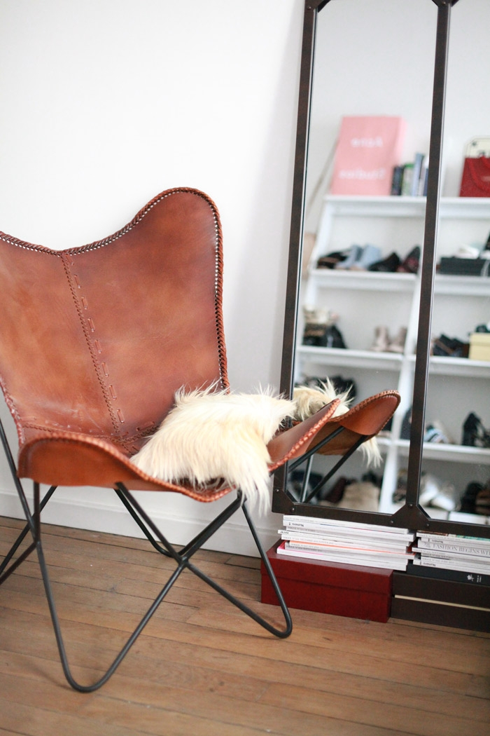 fauteuil en cuir camel santiago maisons du monde pickture. Black Bedroom Furniture Sets. Home Design Ideas