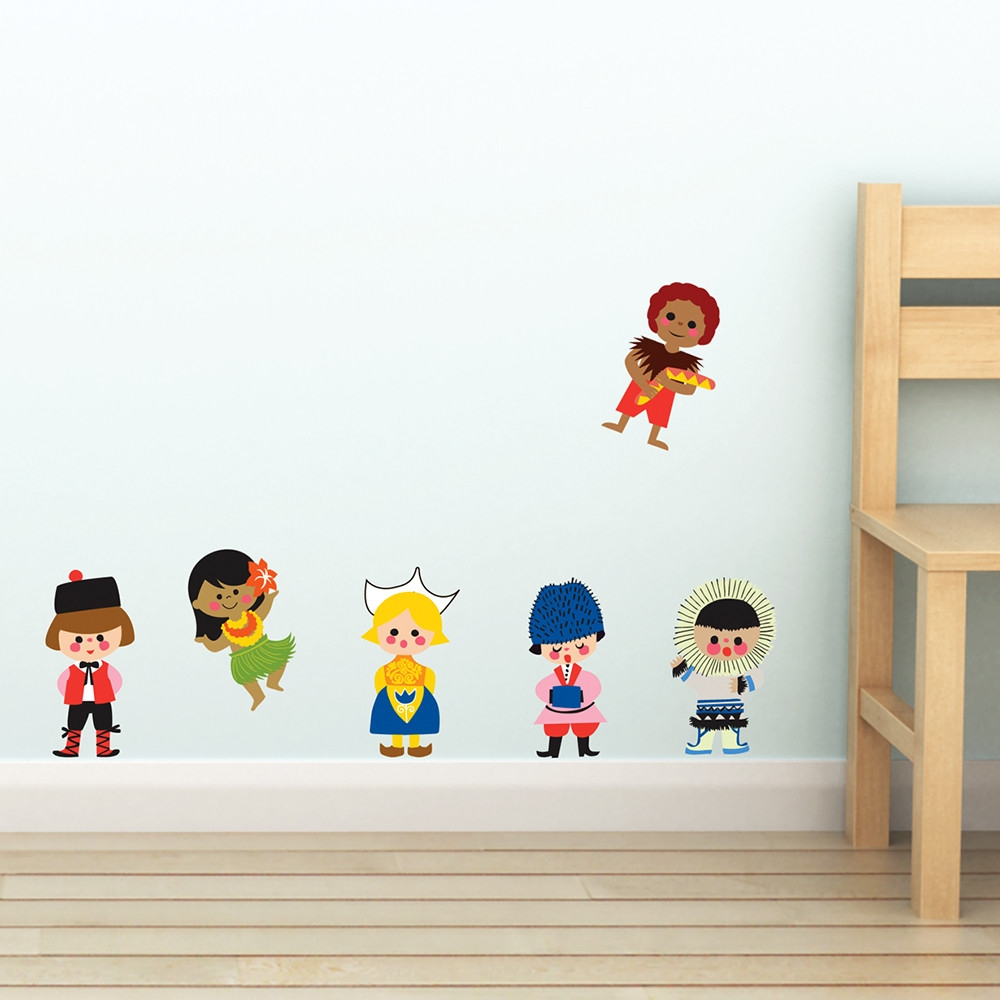 disney small world character wall decals disney pickture