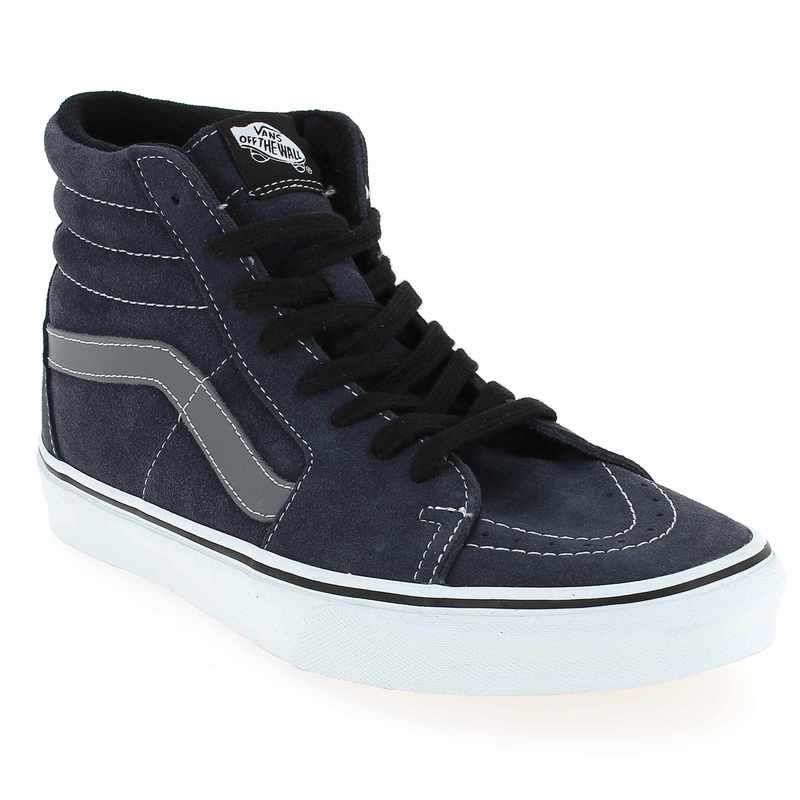 promo baskets mode vans homme sk8 hi suede gris vans pickture. Black Bedroom Furniture Sets. Home Design Ideas