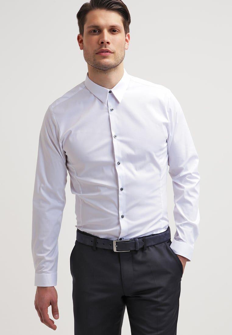 Burton menswear london slim fit formal shirt for Mens slim fit formal shirts uk