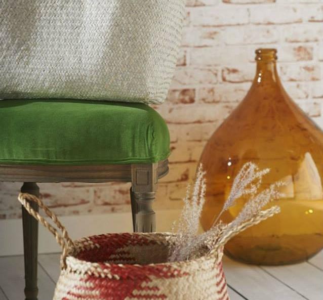 vase verre orange boh me maisons du monde pickture. Black Bedroom Furniture Sets. Home Design Ideas