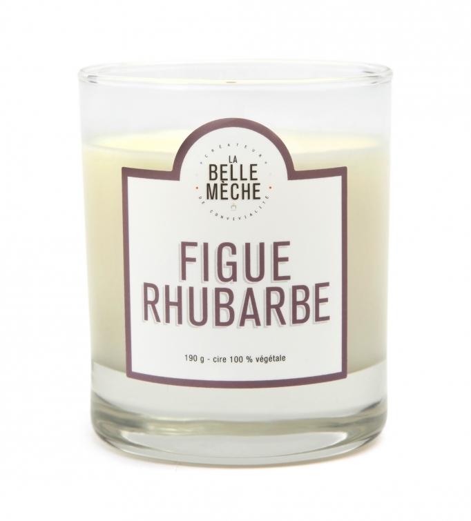 bougie parfum e figue rhubarbe la belle m che la belle m che pickture. Black Bedroom Furniture Sets. Home Design Ideas