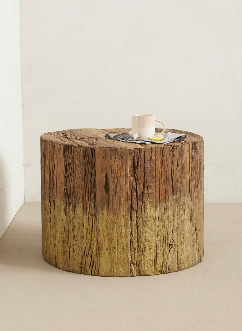 Anthropologie dip dyed side table pickture