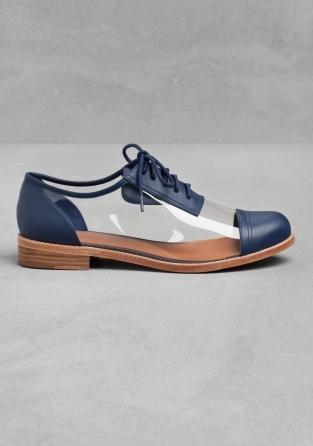 chaussures oxford transparentes other stories pickture. Black Bedroom Furniture Sets. Home Design Ideas